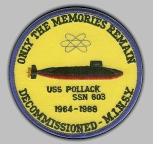 Decommissioning patch for SSN-603