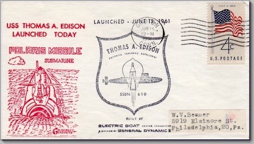 SSBN-610 Launch cover