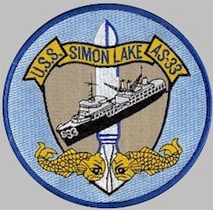 AS-33 ship's patch - image