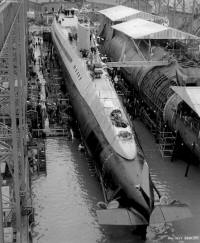 SSGN-587 pre-launch Jan 1959 - photo
