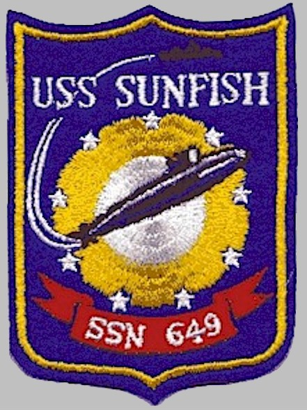 USS Sunfish (SSN 649) ship's patch - image