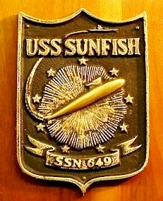 USS Sunfish (SSN 649) ship's plaque - image
