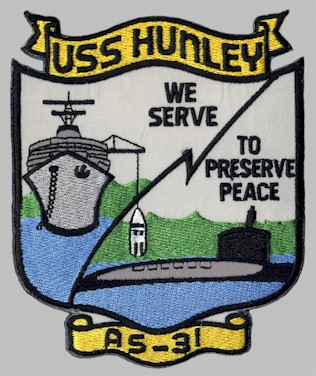 AS-31 ship's patch