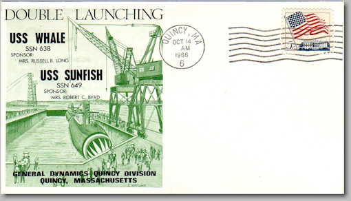 SSN-649 and 638 dual launch cover - image