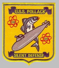 SSN-603 ship's patch - image